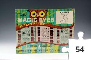 Jigsaw puzzle - Casper Tru-Vue Magic Eyes Story Set