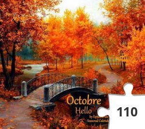 Jigsaw puzzle - welkom oktober