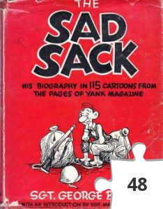 Jigsaw puzzle - The Sad Sack book