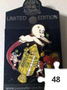 Jigsaw puzzle - Casper pin