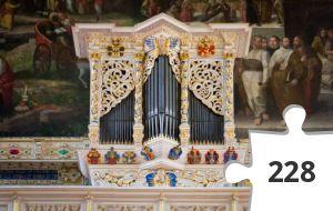 Jigsaw puzzle - Handel organ in Halle Marktkirche - harder