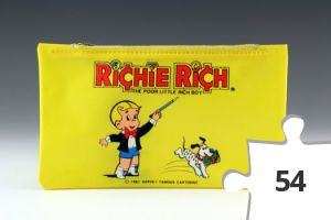 Jigsaw puzzle - Richie Rich pencil case in yellow