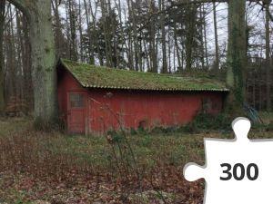 Jigsaw puzzle - Ekstra hus - bagsiden