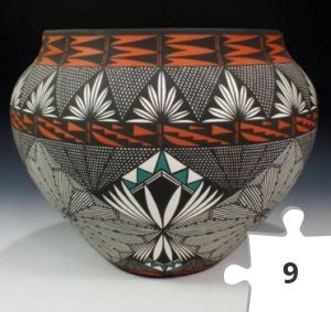 Jigsaw puzzle - Acoma Pueblo Hand Coiled Pottery