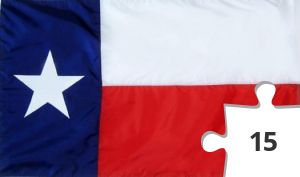 Jigsaw puzzle - Texas State Flag by flagstoreusa