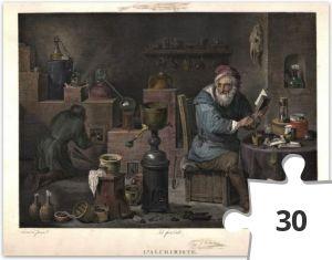 Jigsaw puzzle - Alchymista