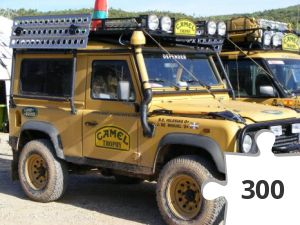 Jigsaw puzzle - Camel Trophy