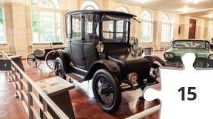 Jigsaw puzzle - Car Museum