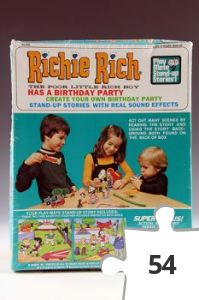 Jigsaw puzzle - Richie Rich Has A Birthday Party Play-Mate Stand-Up Stories