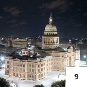 Jigsaw puzzle - Texas State Capitol Feb. 15, 2021- Caller Times