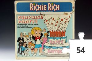 Jigsaw puzzle - Richie Rich Surprise Party story record