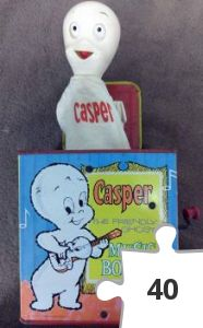 Jigsaw puzzle - Casper Music Box