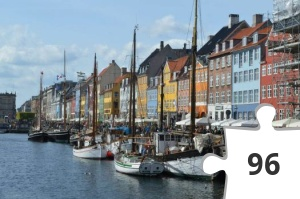 Jigsaw puzzle - Denemarken