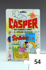 Jigsaw puzzle - Casper Spooky in chair puzzle