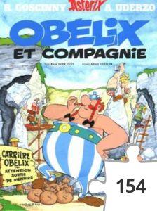 Jigsaw puzzle - Obelix et compagnie