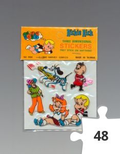 Jigsaw puzzle - Richie Rich Three Dimensional Stickers