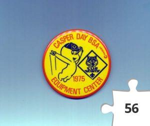 Jigsaw puzzle - Casper Boy Scouts of America button