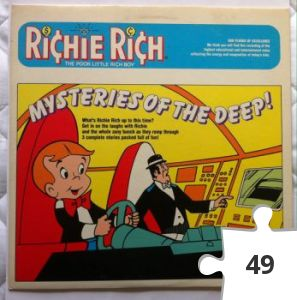 Jigsaw puzzle - Richie Rich Mysteries of the Deep story record