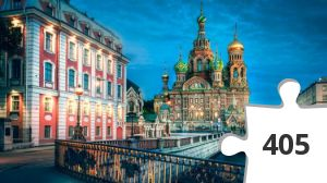 Jigsaw puzzle - Russia-Saint-petersbourg