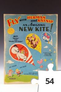 Jigsaw puzzle - Herman and Katnip kite