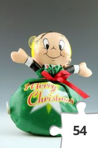 Jigsaw puzzle - Richie Rich Merry Christmas doll