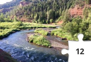 Jigsaw puzzle - River in Colorado