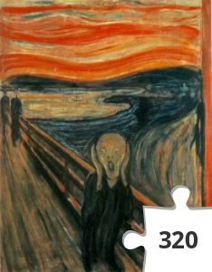 Jigsaw puzzle - The Scream