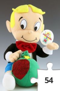 "Jigsaw puzzle - Richie Rich ""Can't Buy Me Love"" doll"