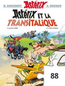 Jigsaw puzzle - Asterix et la transitalique