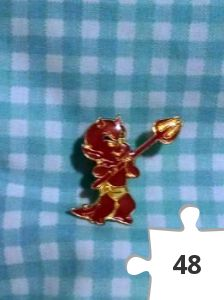 Jigsaw puzzle - Hot Stuff pin