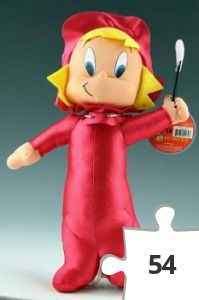 Jigsaw puzzle - Wendy doll