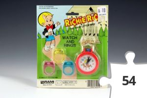 Jigsaw puzzle - Richie Rich Watch and Rings