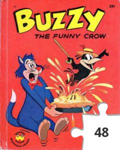 Jigsaw puzzle - Buzzy the Funny Crow