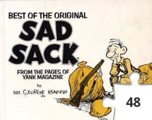 Jigsaw puzzle - Best of the Original Sad Sack book