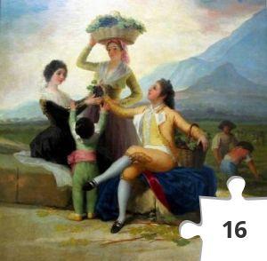 Jigsaw puzzle - vendemmia di Goya