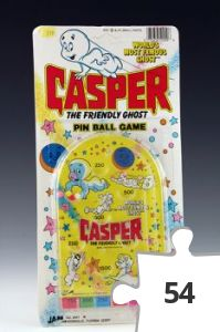 Jigsaw puzzle - Casper Pin Ball Game