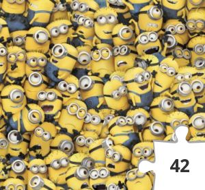 Jigsaw puzzle - #001 - One in a Minion