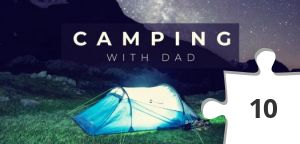 Jigsaw puzzle - Camping with Dad