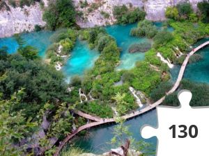 Jigsaw puzzle - croatie plitvice