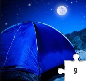 Jigsaw puzzle - Camping by Haaretz