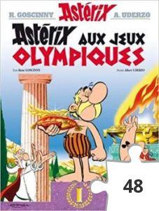 Jigsaw puzzle - Asterix aux jeux olympiques