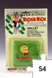 Jigsaw puzzle - Richie Rich Wallet, green variant