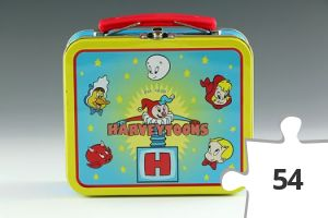 Jigsaw puzzle - Harveytoons mini lunch box