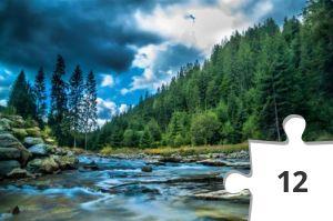 Jigsaw puzzle - Conifers Creek by Snapwire