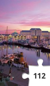 Jigsaw puzzle - Cape Town South Africa