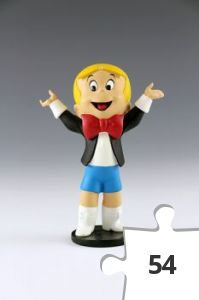 Jigsaw puzzle - Richie Rich Teeny Weeny Mini-maquette
