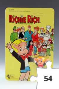 Jigsaw puzzle - Richie Rich figure