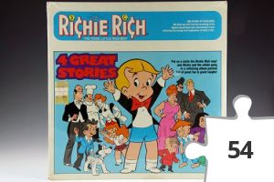 Jigsaw puzzle - Richie Rich 4 Great Stories story record