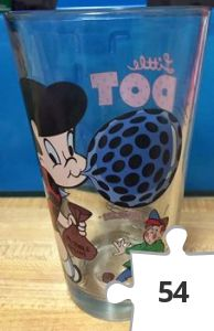 Jigsaw puzzle - Little Dot Toon Tumbler, clear variant