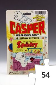 Jigsaw puzzle - Casper Spooky with boat puzzle